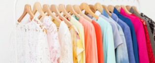 Clothes hanging on the rack